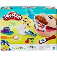 MASSINHA PLAY-DOH BRINCANDO DE DENTISTA - HASBRO