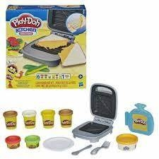 PLAY-DOH - KITCHEN CREATIONS - SANDUICHE DE QUEIJO - HASBRO - comprar online