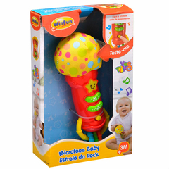 MICROFONE - BABY ESTRELA DO ROCK- YES TOYS