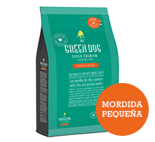 The Green Dog / Adulto Mordida Pequeña / 3kg
