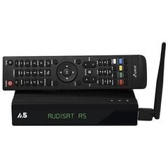 Receptor Audisat A5 Plus HD Acm com Wifi Hdmi e Ondemand 3 Tunner Conversor Tv Digital integrado