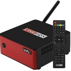 Receptor Cinebox Fantasia Z ACM com wifi sks iks Iptv Vod Cabo audio e video H265