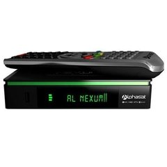 Receptor Alphasat Pro Nexum Hd Kvm Edition Wifi 3 Tunner Bivolt Iptv