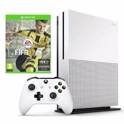 Console Xbox One S 1TB + Game FIFA 17 + Controle   (Game FIFA 17 (Via Download) na internet