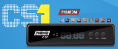 Receptor Phantom CS1 Hd Com Wifi e Ondemand IPTV. Somente para uso com CS