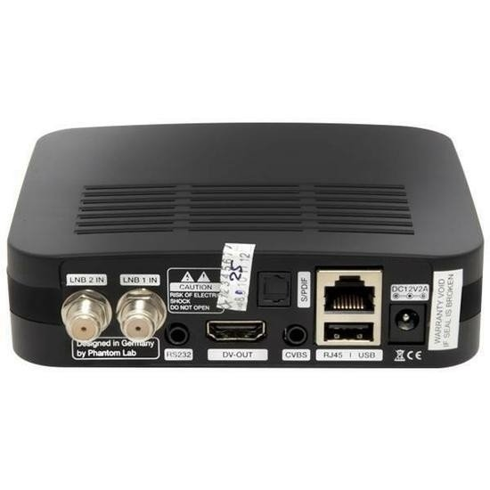 Receptor Phantom Rio 2 Hd Acm c/ Wifi 2 tunner na internet