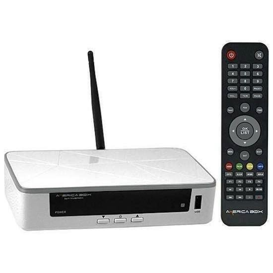 Receptor AmericaBox S205 Plus Acm HD 1080p IPTV c/ Wifi Mesmo AZ S1009
