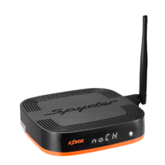 Receptor Azbox Spyder HD ACM 3 com Wifi e Tunner Conversor tv digital incluso.