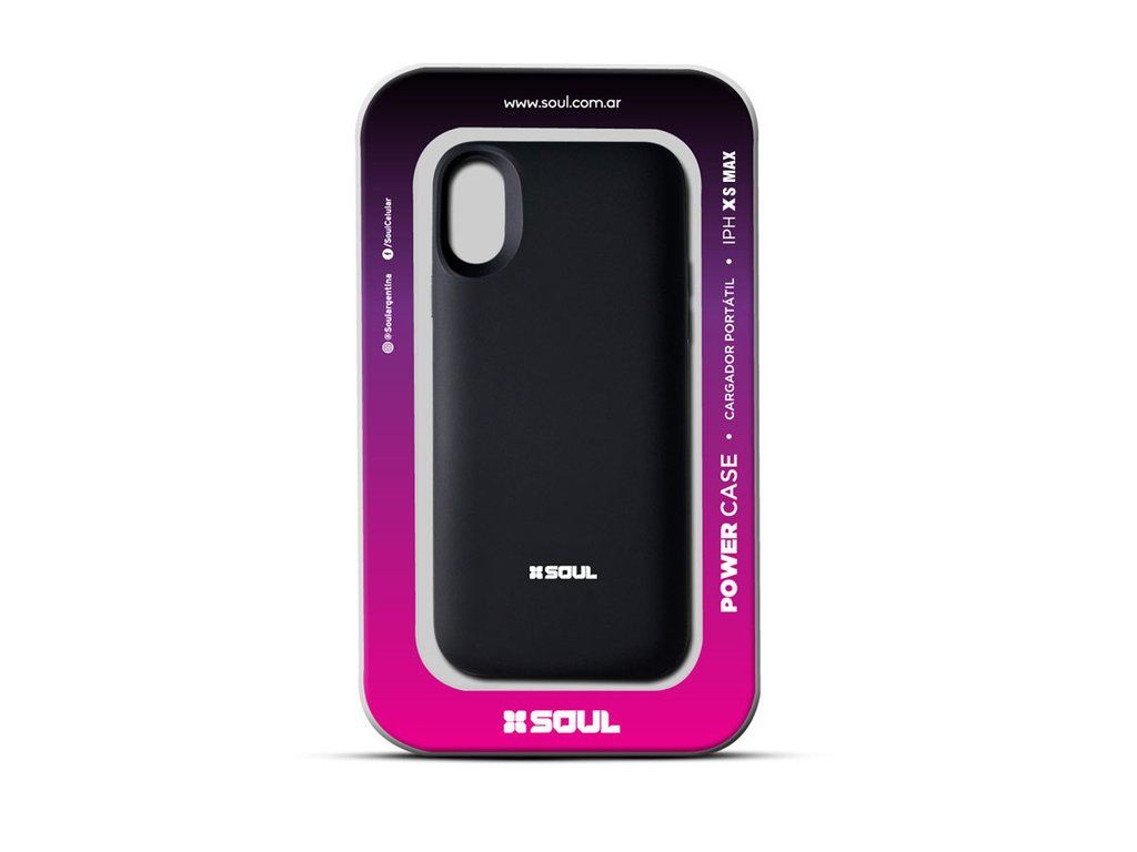 d2d8a6ded38 Funda Cargador Portátil Power Bateria iPhone Xs Max 6000mah