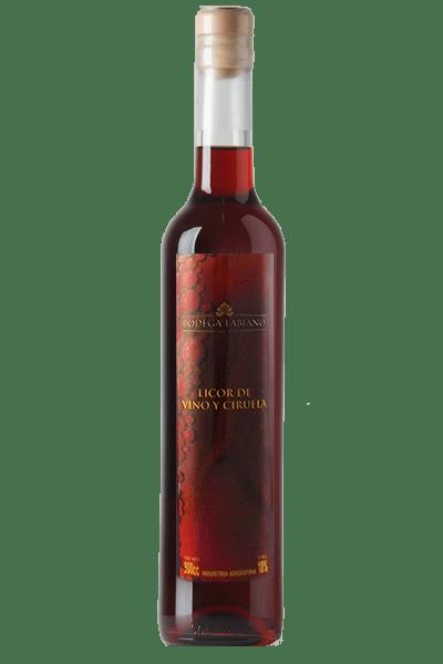 Licor de Vino y Ciruela. Bodega Boutique Labiano