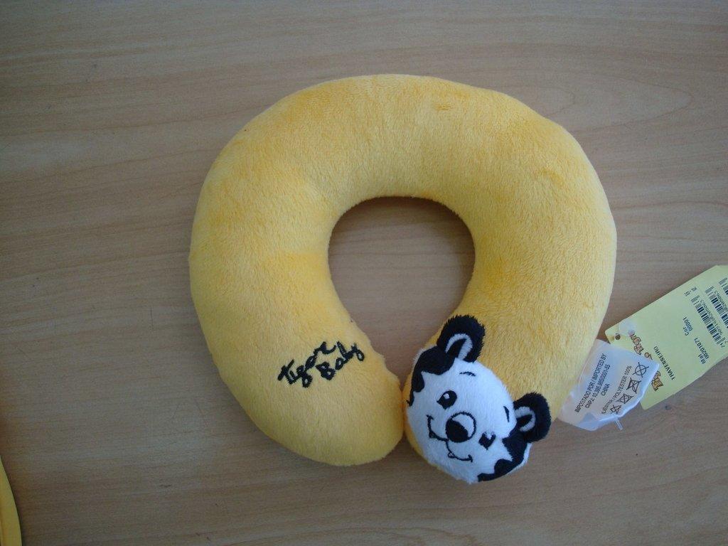 Travesseiro Tigor T. Tigre Amarelo - Tam Pequeno 619a26eb659