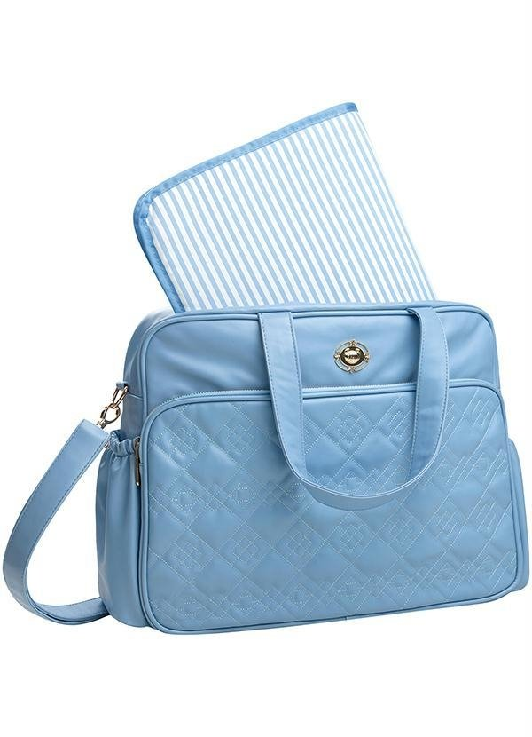 Bolsa Maternidade com Trocador Azul Claro 80202501 - Tigor T. Tigre 172bcbefc7d