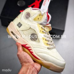 NIKE AIR JORDAN 5 RETRO x OFF-WHITE