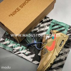 "Imagem do OFF-WHITE X NIKE AIR MAX 90 ""DESERT ORE"""