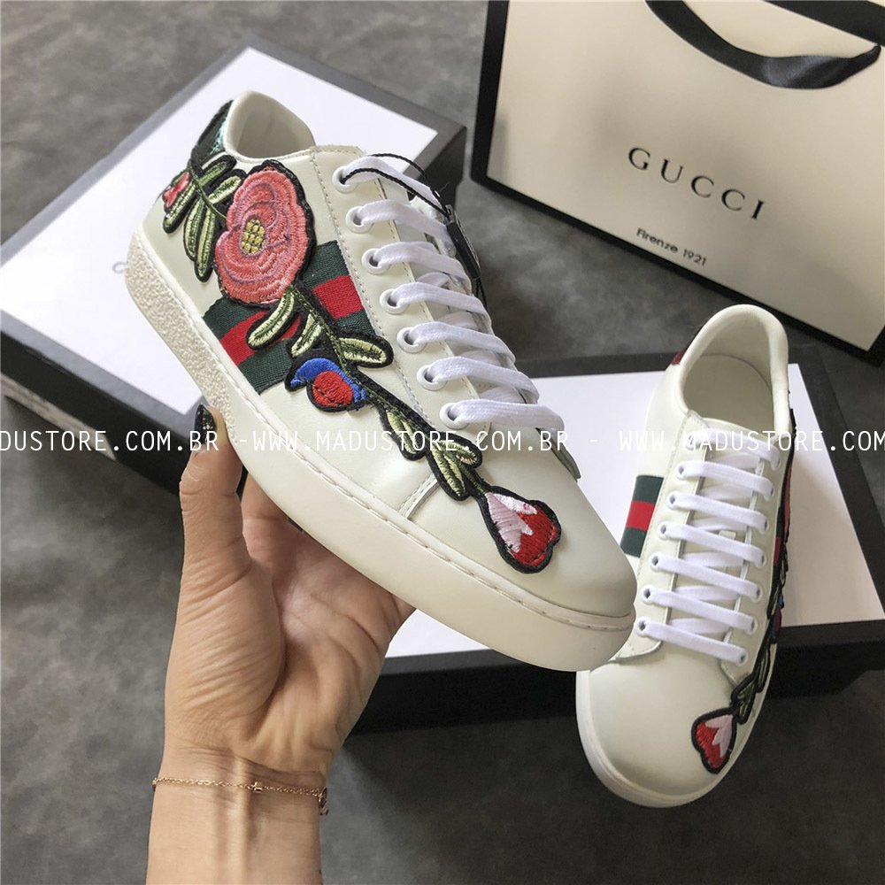 a397978ed Gucci Ace Flower - Buy in Madu Store