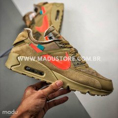 "OFF-WHITE X NIKE AIR MAX 90 ""DESERT ORE"" na internet"