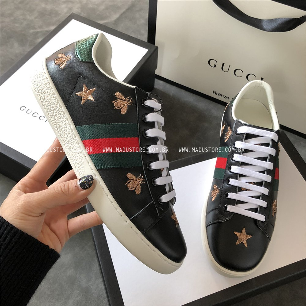 53046276d Gucci Ace Bee Stars - Buy in Madu Store