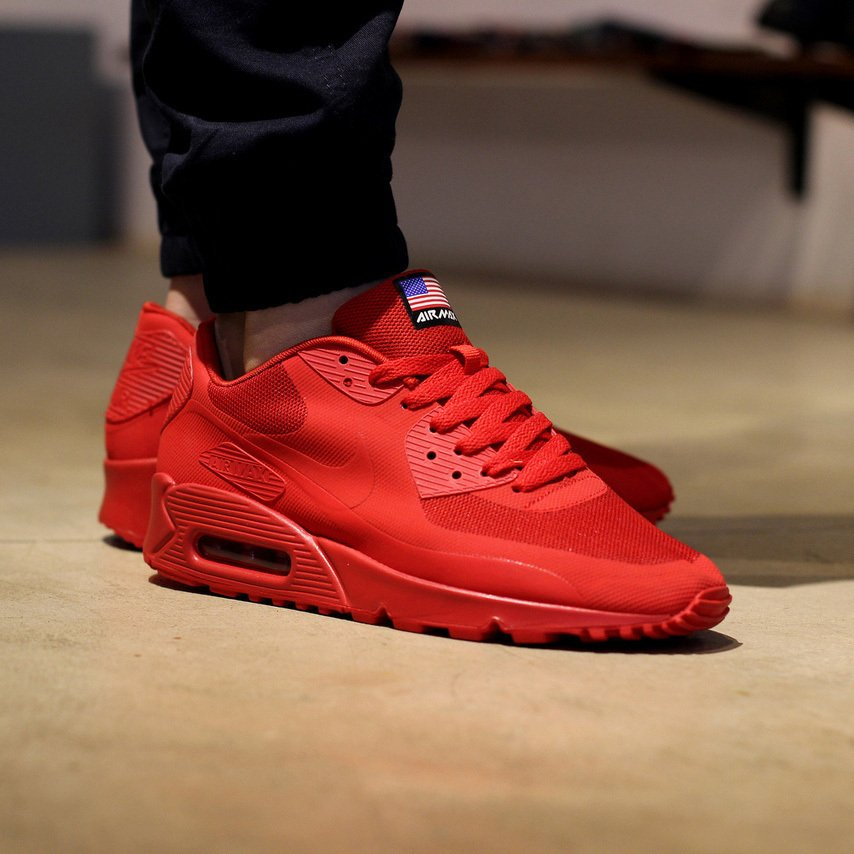 32e2674bebc Nike Air Max 90 Hyperfuse Independence Day - Madu Store