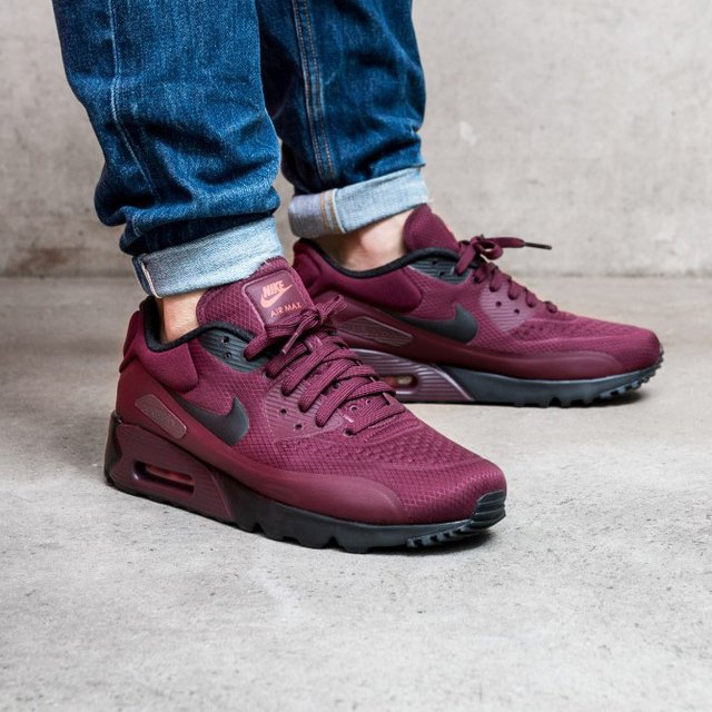 Nike Air Max 90 Maroon ...