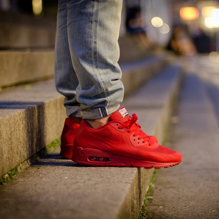 189b65ff29 Nike Air Max 90 Hyperfuse Independence Day - Madu Store