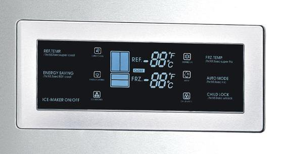 REFRIGERADOR CRISSAIR FRENCH DOOR  INOX na internet