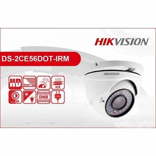 Camara Hikvision Ds-2ce56d0t-irm Lente 2.8mm Local Rosario