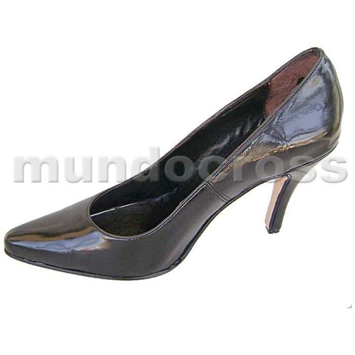 7561e8e1 Zapatos Clásicos Stiletto Taco Alto Aguja 41, 42, 43, 44, 45