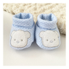 Escarpines Light Blue Teddy - Matelasse