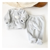 Conjunto Animals de Coral Fleece - Sofi Gris