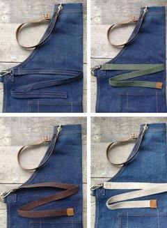 Avental Jeans Azul Mix - Made of Jeans