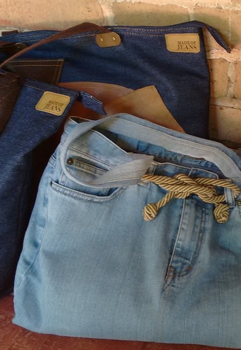 Bolsa Jeans Cordão - Made of Jeans