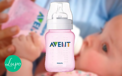 Avent - Mamaderas Classic+ Rosa / Azul 260ml