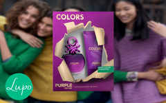 Benetton - Colors Purple / Estuche