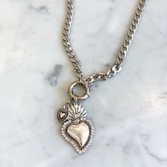 COLLAR MEXICAN HEART