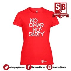 Camiseta/Esqueleto Mujer No Omar No Party en internet