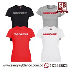Camiseta Foo Fighter Letras - comprar online
