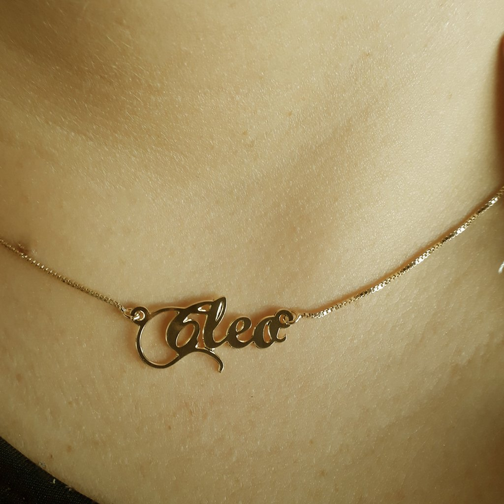 83bc2eaa5d2e3 Corrente com Nome Personalizado - Cleo