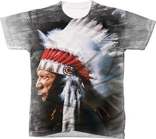 camisa índio com cocá