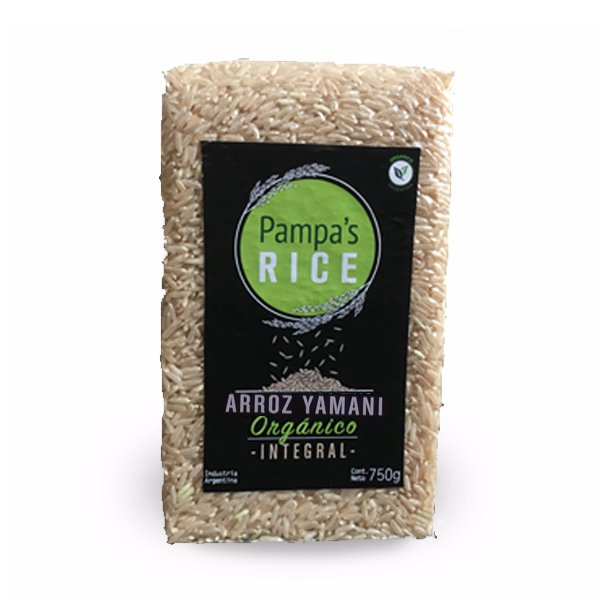 Arroz Yamani Intregral Orgánico 500gr - Pampa's Rice en internet
