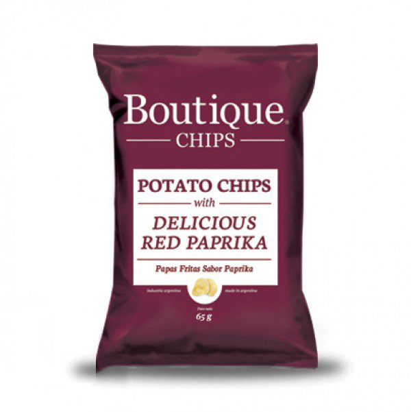 Boutique Chips - Delicious Red Paprika