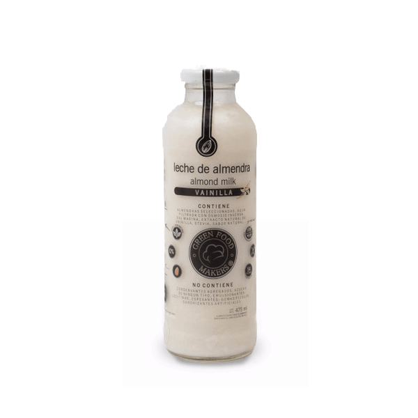 Leche de Almendras 500ml - Vainilla - Green Food Makers - comprar online