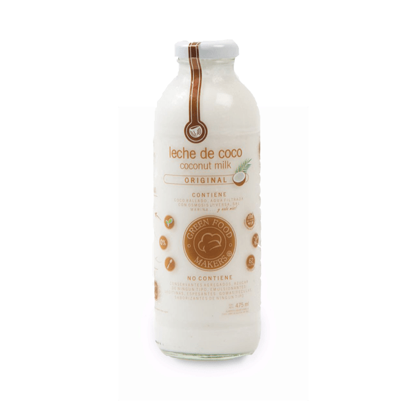 Leche de Coco 500ml - Original - Green Food Makers - comprar online