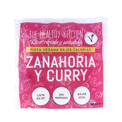 Pizza Vegana de Zanahoria, Curry y Frutos Secos x 300gr - The Healthy Kitchen