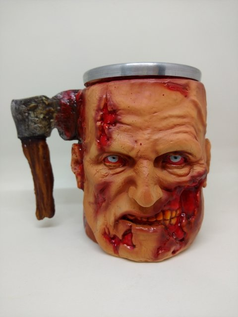Caneca Zumbi  390ml na internet