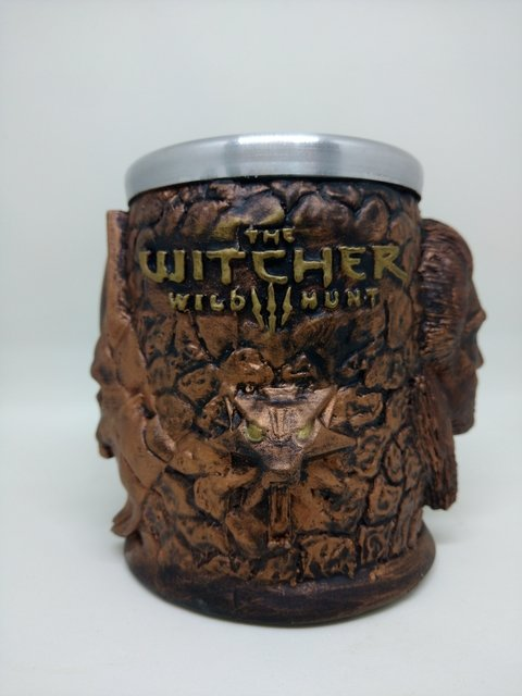 Caneca 390ml Geralt&Eredin The Witcher 3