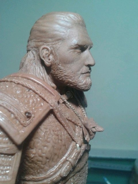 Pré-Venda  Mini-Busto  Geralt  The Witcher 3
