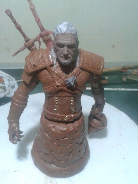Pré-Venda  Mini-Busto  Geralt  The Witcher 3 na internet