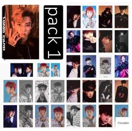 LOMO CARD Chanyeol - comprar online