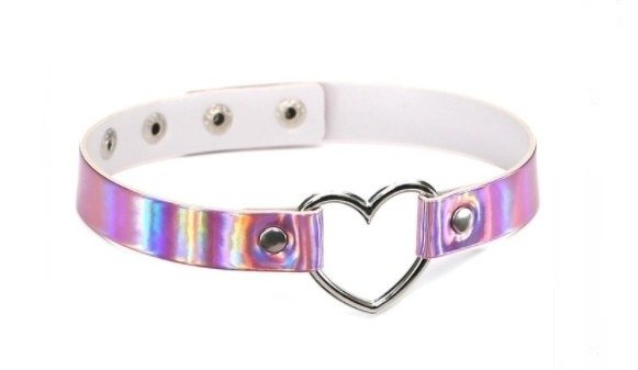 Choker Heart Hologram