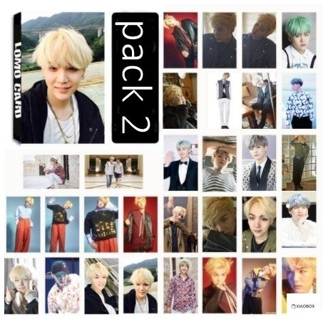 LOMO CARD Suga na internet